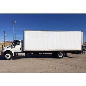 2015 International 4300 Box Truck in OK