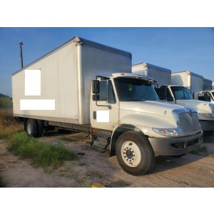 2019 International MV Box Truck