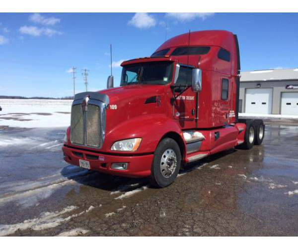 2012 Kenworth T660 with Cummins in Michigan, wholesale, NCL Truck Sales