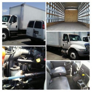 2015 International 4300 Box Truck in GA