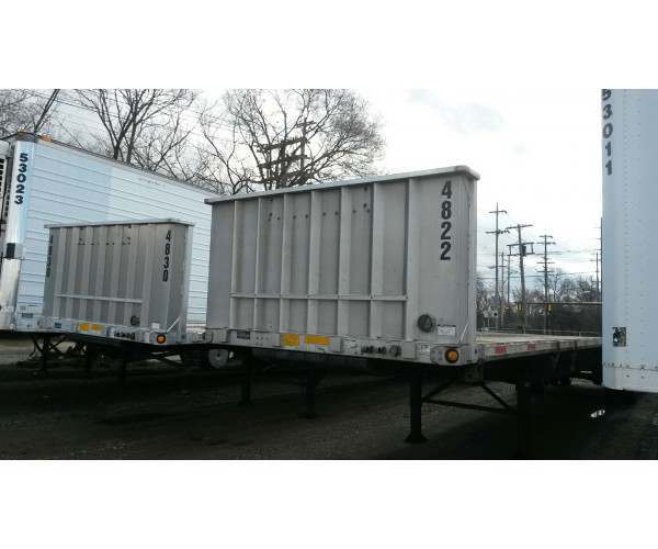 2015 Utility Flatbed Combo Trailer - NCL Truck Sales - Wholesale