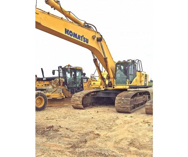 2010 Komatsu PC600 LC-8 Excavator in OK
