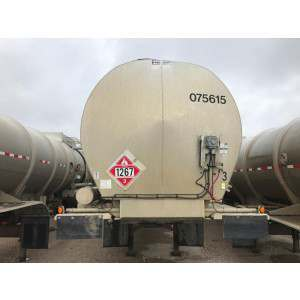 2007 Polar Crude Oil Tank Trailer in MT
