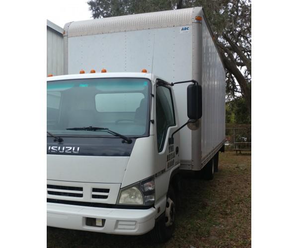 43f25cd51a4945 2006 Isuzu NPR Box Truck Sold SKU FE1045