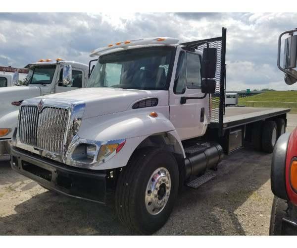 2006 International 7500 Flatbed Truck in IN