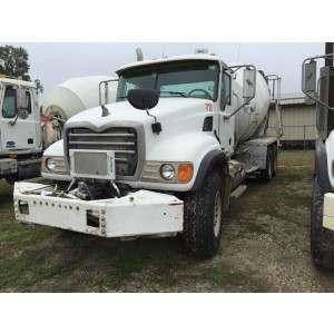 2008 Mack GU713 Mixer Truck in TX