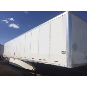 2009 Wabash Dry Van Trailer in MS