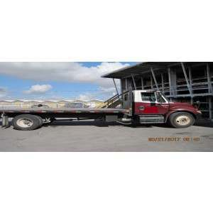 2005 International 4300 Flatbed Truck in TX