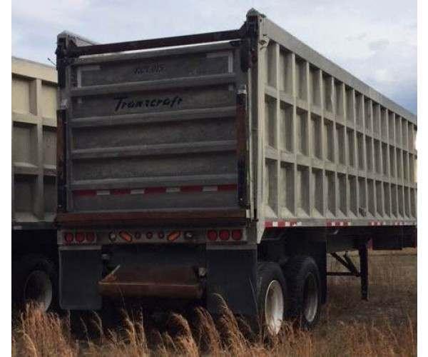 2011 Transcraft End Dump Trailer 1
