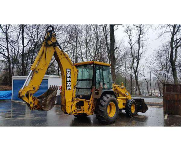 2000 Deere 410E Loader Backhoe5
