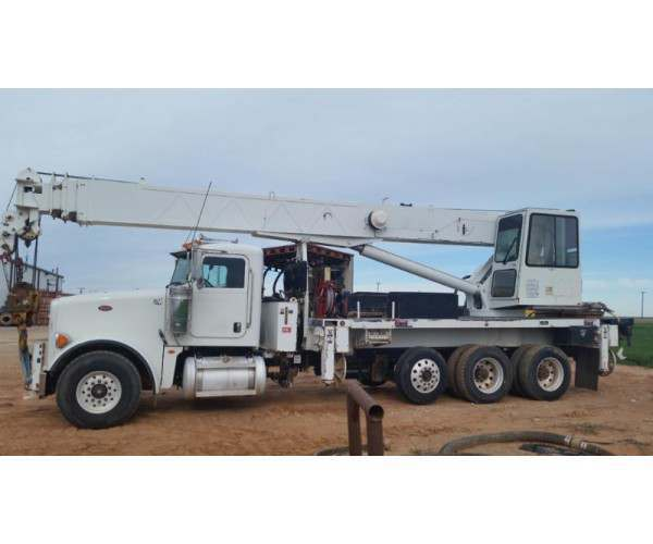 2009 Altec Peterbilt 367 truck crane, AC-38-127S, 38T, Oklahoma, wholesale, NCL Truck Sales