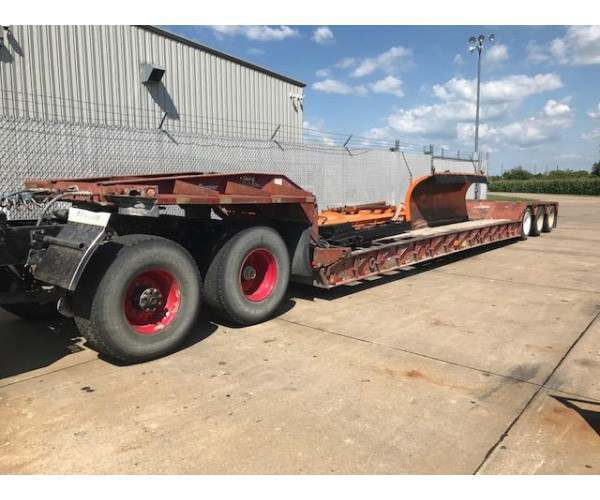 1999 Eager Beaver 50GSL Lowboy Trailer in IA