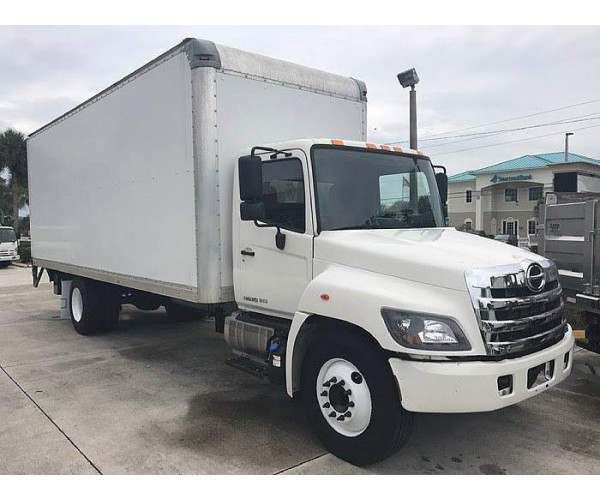2014 Hino 268 Box Truck in FL