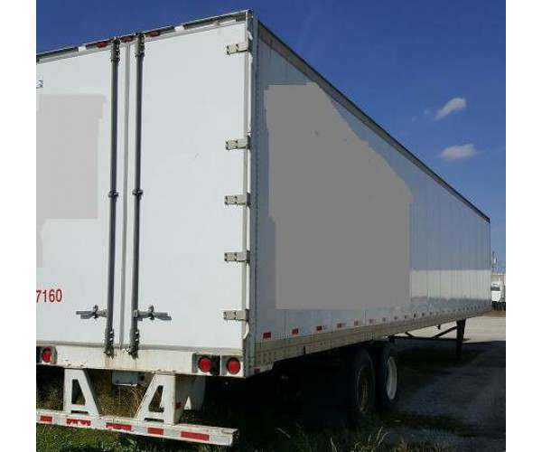 2007 Strick Dry Van Trailer 3