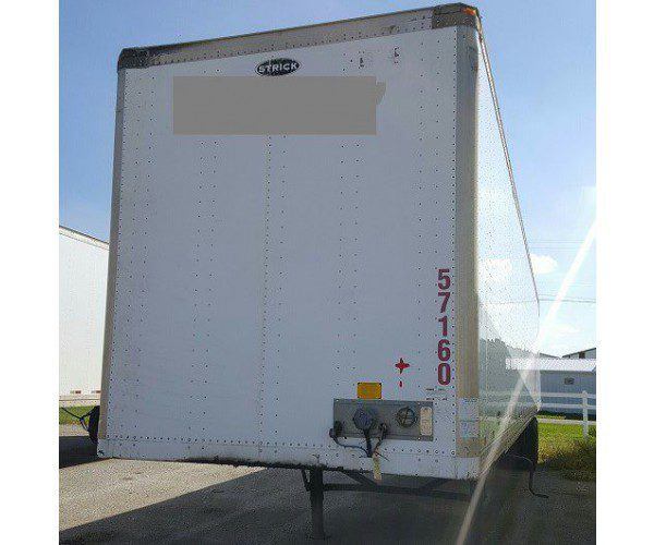 2007 Strick Dry Van Trailer 6