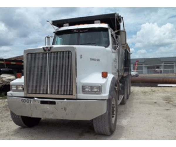 2004 Western Star Dump Truck in FL