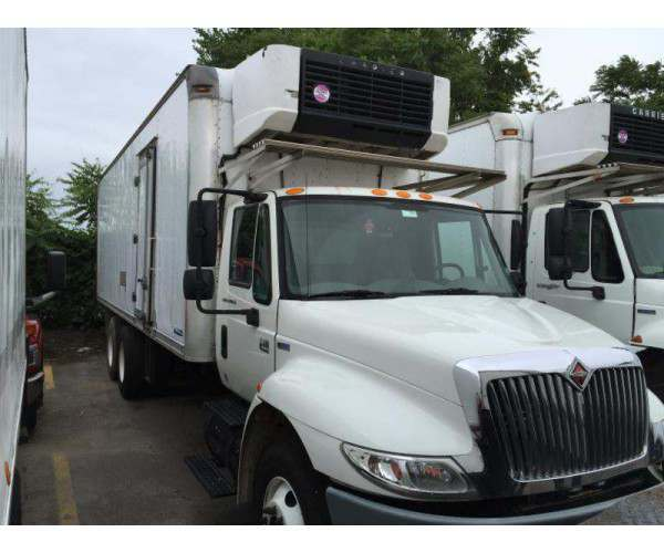 2007 International 4400 Reefer Truck 4