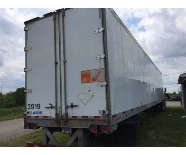 "2006 Vanguard Dry Van, 53' x 102"" x 13' 6"", NCL Truck Sales, buy used trailers"