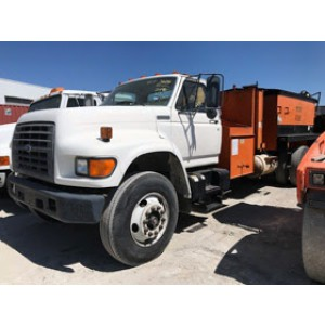 1997 Ford F800 Patch Truck in TX