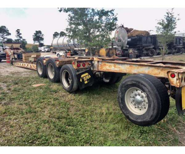 1988 Landoll Lowboy Beam Trailer in FL