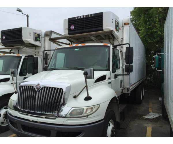 2007 International 4400 Reefer Truck in CT