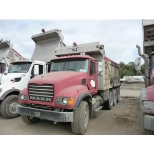 2007 Mack CV713 Dump Truck in DE