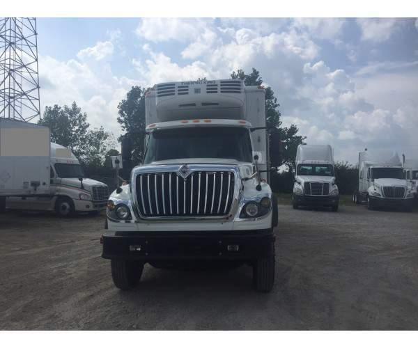 2009 International 7600 Reefer Truck 2
