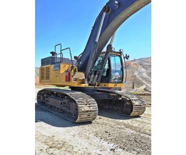 2014 Deere 470G LC Excavator in OK