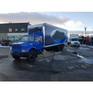 2002 International 4900 Box Truck in ME