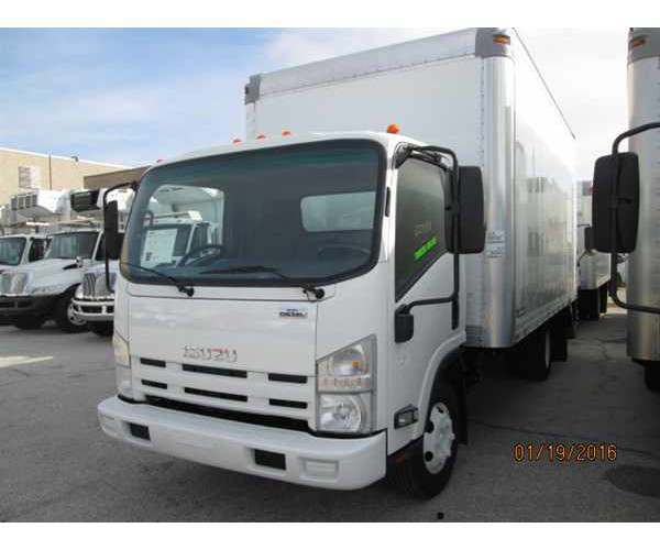 2010 Isuzu NPR Box Truck in California