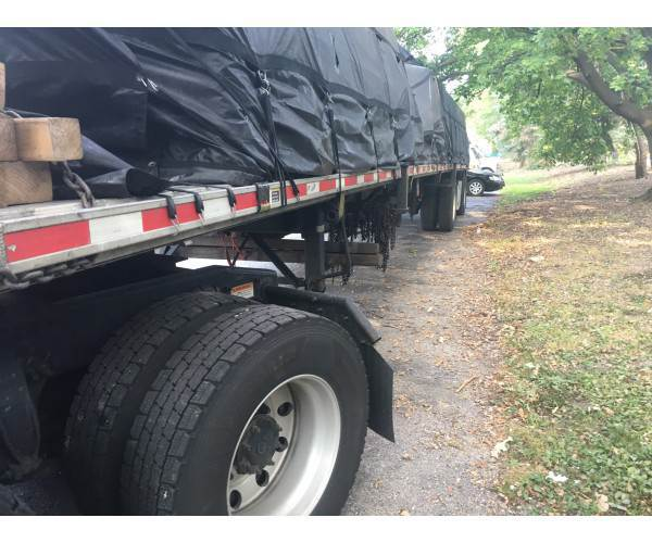 2015 Fontaine Flatbed Trailer in IN