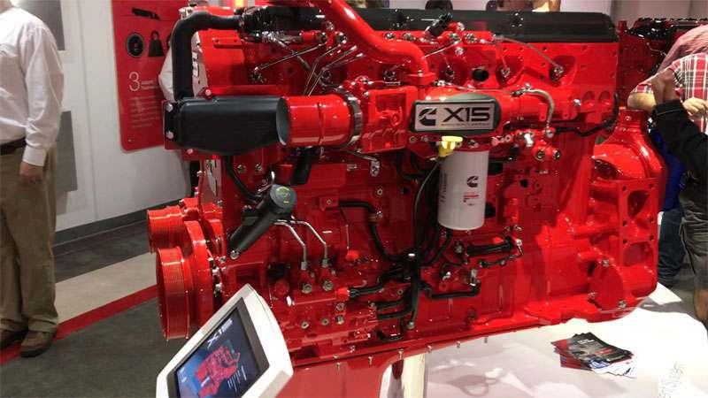 2017 Cummins X15 Efficiency Series engine