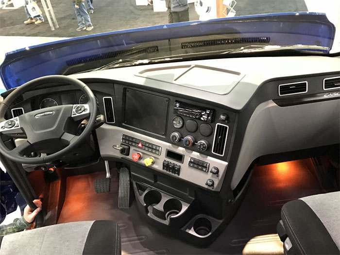Freightliner Cascadia Day Cab Interior Images Galleries With A Bite