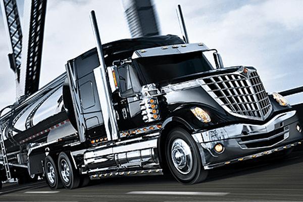 International LoneStar Black truck