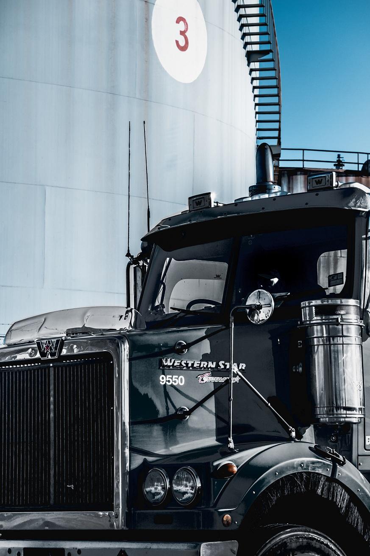 Used Black truck
